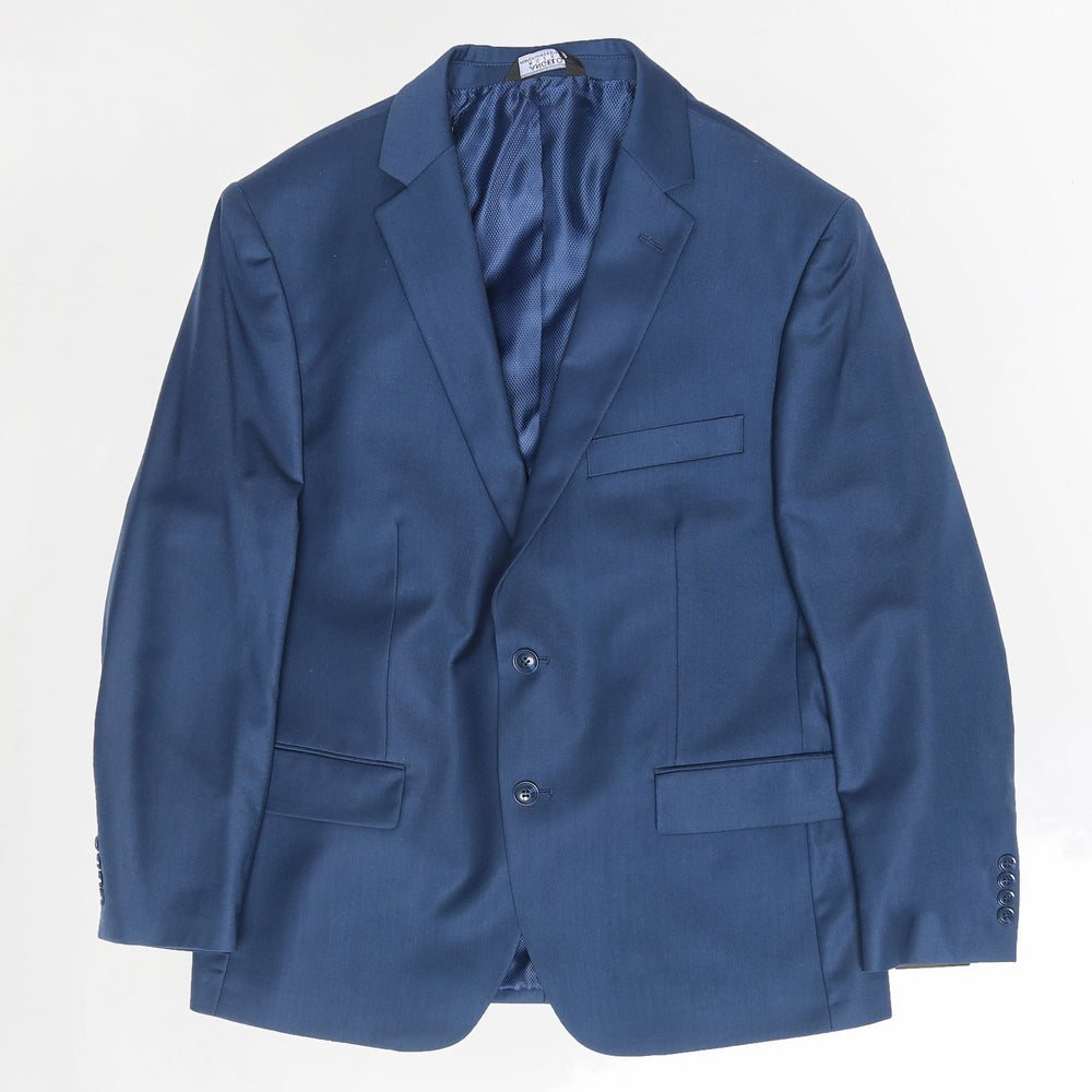 Modern Fit Medium Blue Vested Suit