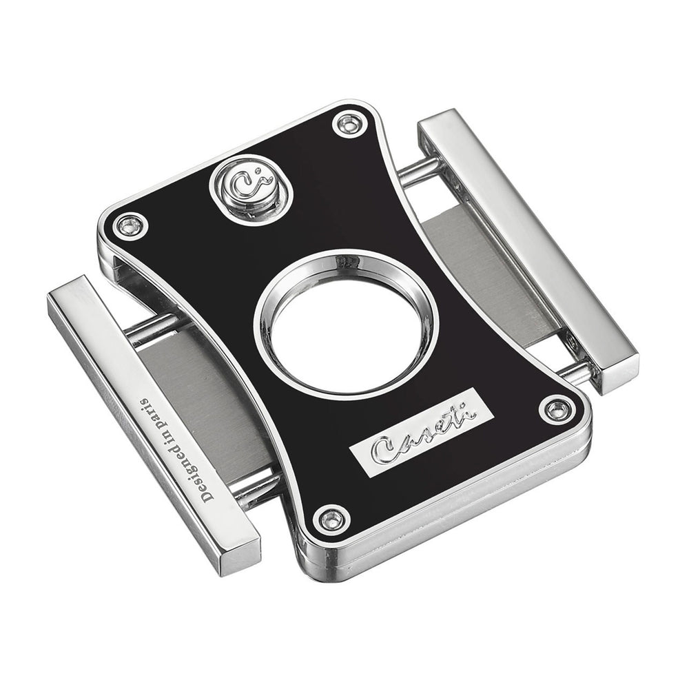 Caseti Dion Black Double Guillotine Cigar Cutter