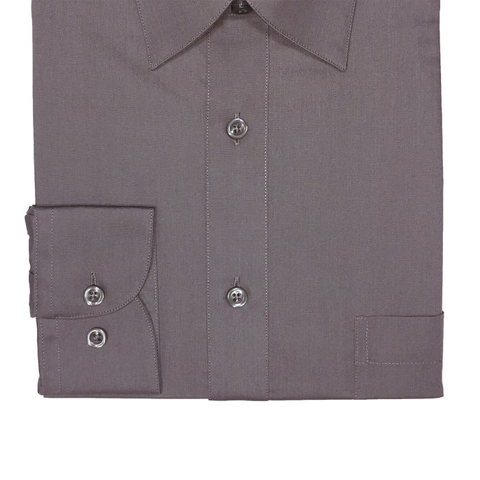 Marquis Charcoal Regular Fit Dress Shirt