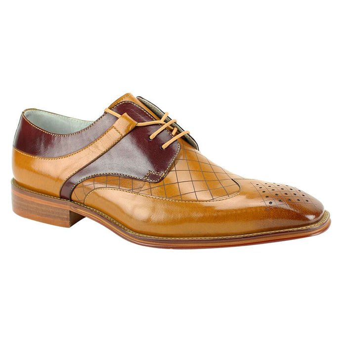 Giovanni Enzo Scotch and Burgundy Wingtip Oxford