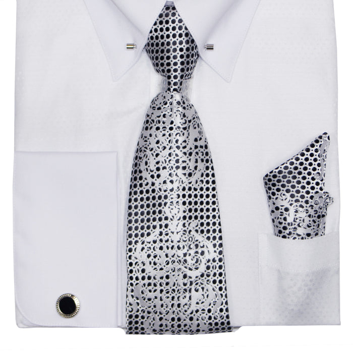 Henri Picard 159 White Regular Fit Dress Shirt Combo