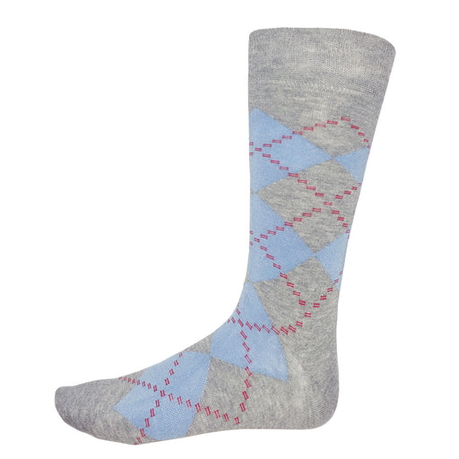 Fun Socks Argyle Grey