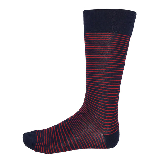 Fun Socks Red Stripes