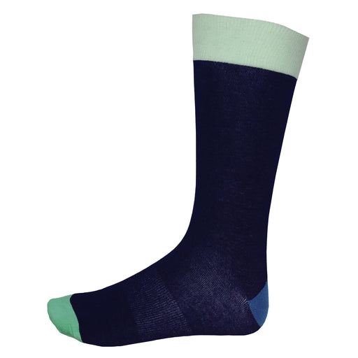 Fun Socks Navy Blue
