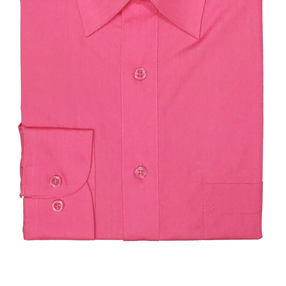 Marquis Fuschia Regular Fit Dress Shirt