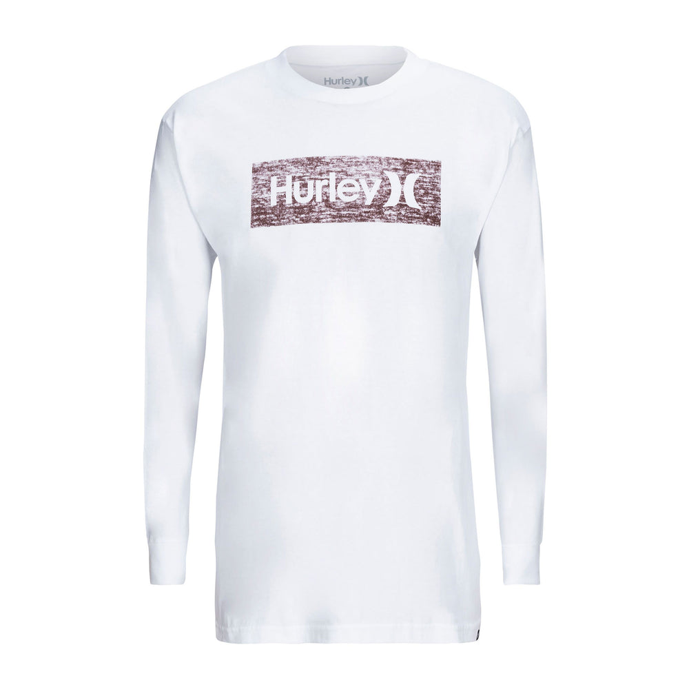 Hurley Boxed Texture Long Sleeve - White