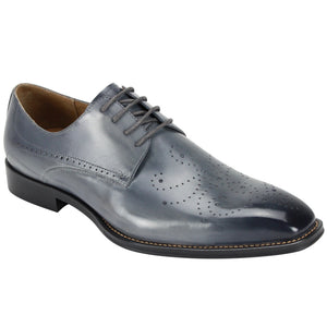 Giovanni Joel Grey Oxford Dress Shoes