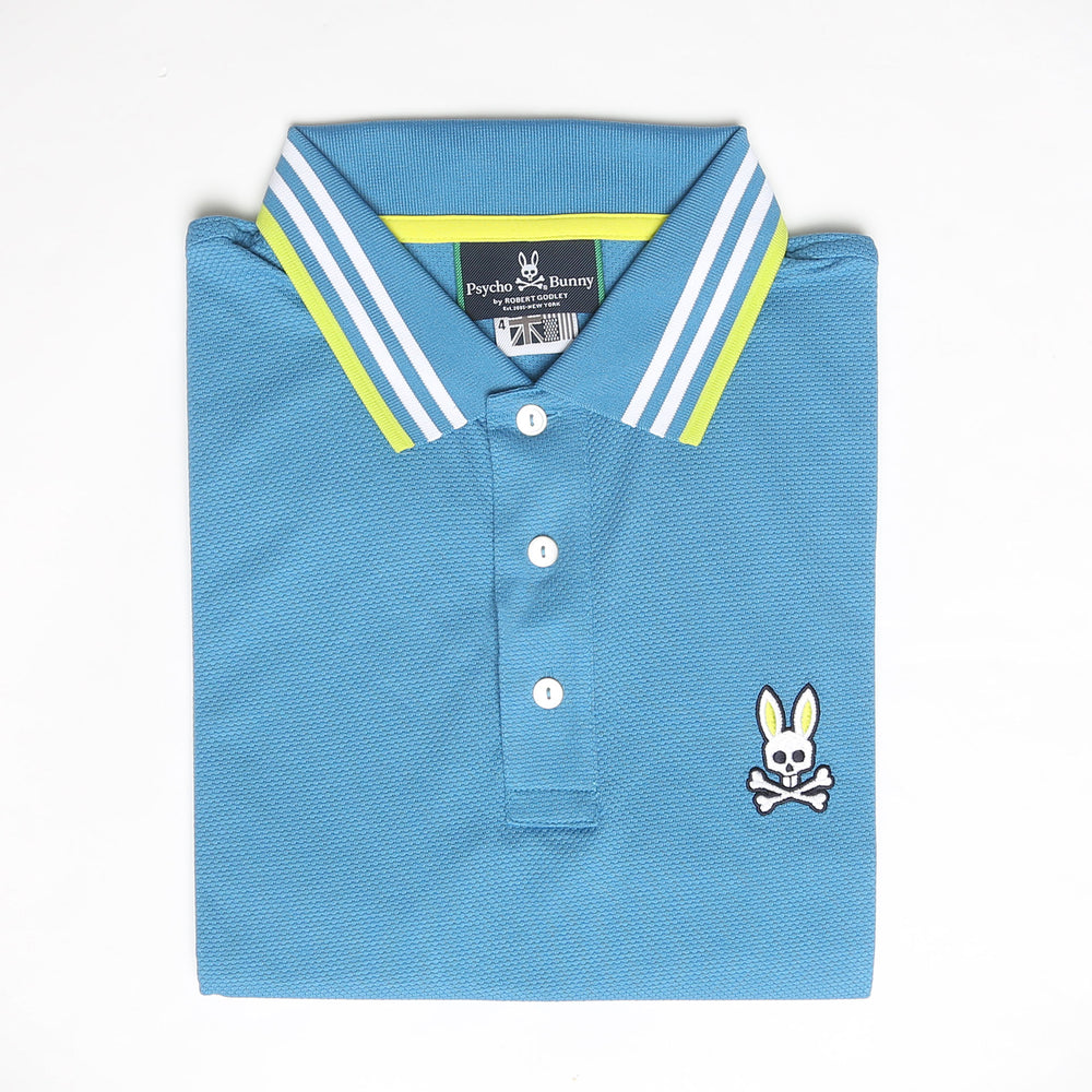 Woburn Sports Polo Mineral Blue