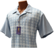 R. Lewis Blue Short Sleeve Shirt and Pants Sport Set