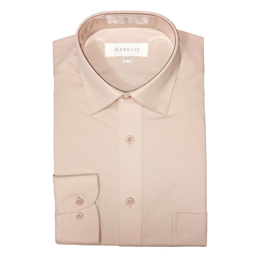 Marquis Sand Regular Fit Dress Shirt