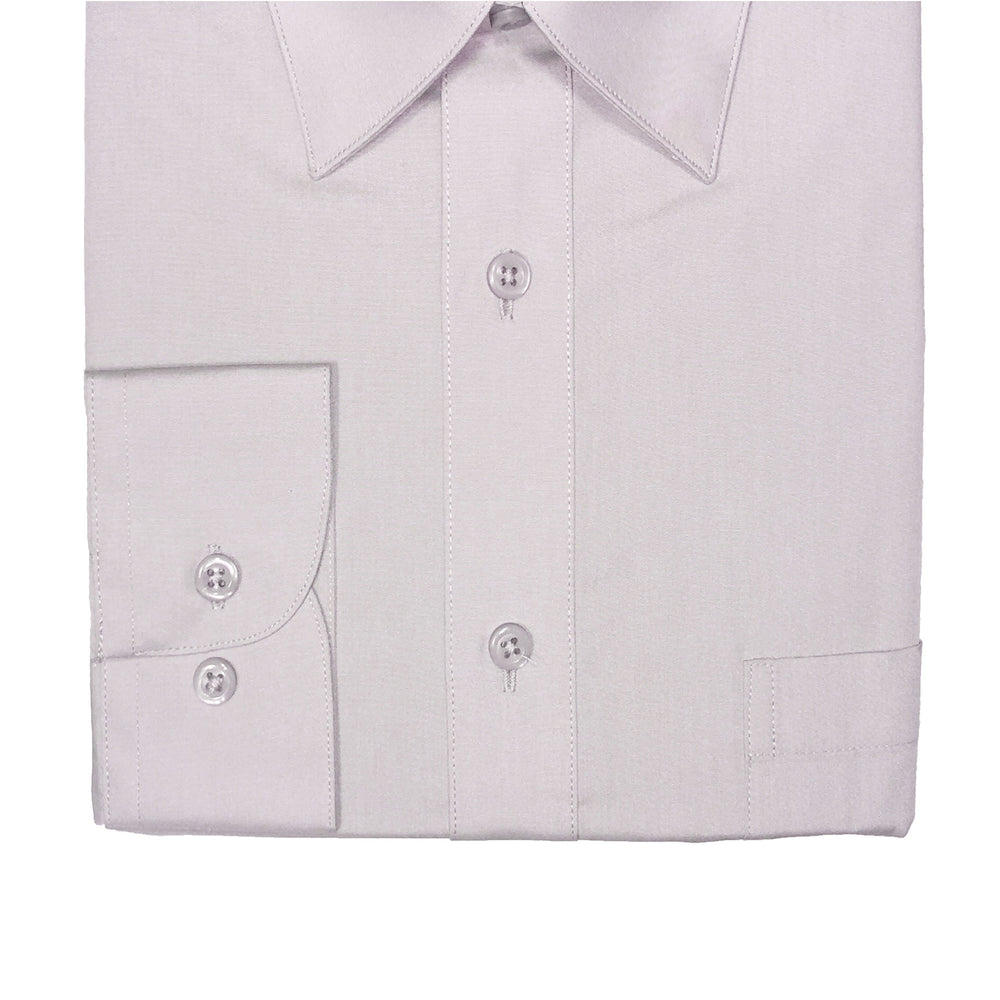 Marquis Silver Regular Fit Dress Shirt