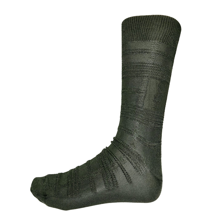 Stacy Adams Forest Green Dress Socks
