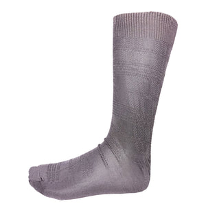 Gunmetal Dress Socks