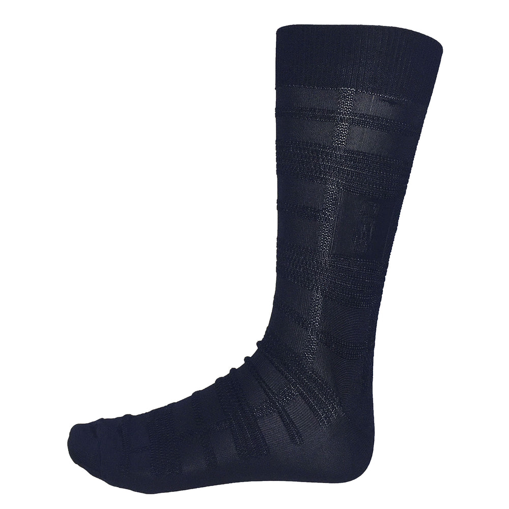 Navy Blue Dress Socks