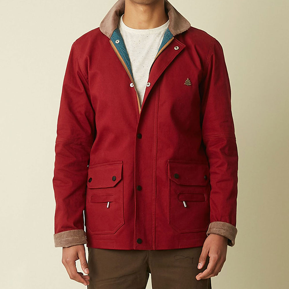 Whitman Cohen Red Cotton Jacket