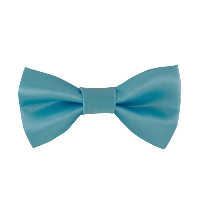 Gianfranco Baby Blue Bow Tie and Handkerchief