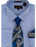 Bruno Conte 053 Blue Dot Regular Fit Dress Shirt Combo