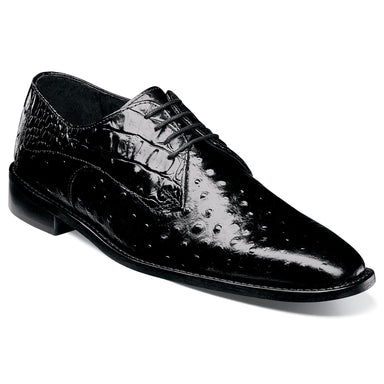 Stacy Adams Russo Black Plain Toe Oxford Dress Shoes