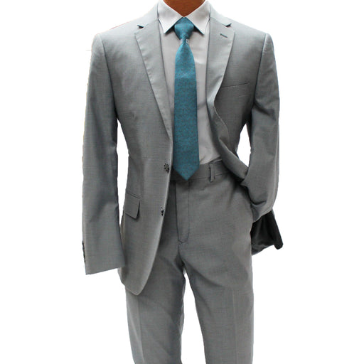 Angelo Rossi Dawn Grey Modern Fit Suit