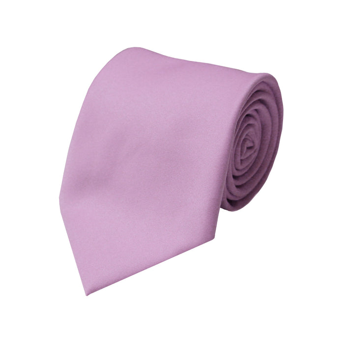 Stacy Adams Solid Lilac Tie and Handkerchief