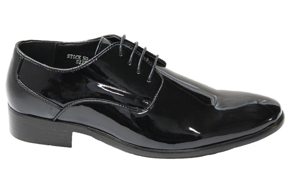 Harlem Knights Black Tuxedo Shoes