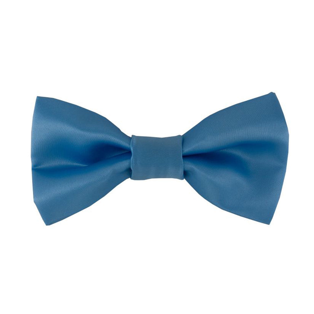 Gianfranco Light Blue Bow Tie and Handkerchief