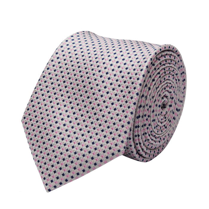 Gianfranco Light Pink Tie and Handkerchief