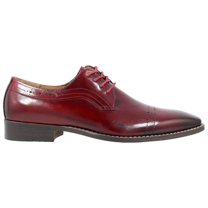 Stacy Adams Shallon Red Cap Toe Oxford Dress Shoes