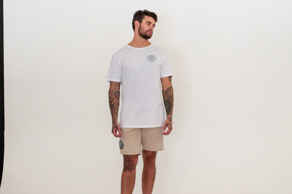 Basic Tee - White - Okay Captain