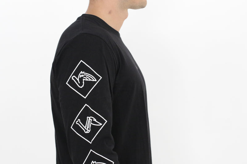 Long Sleeves - Black - Okay Captain