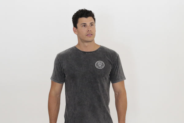 Basic Tee - Stone Wash Black - Okay Captain