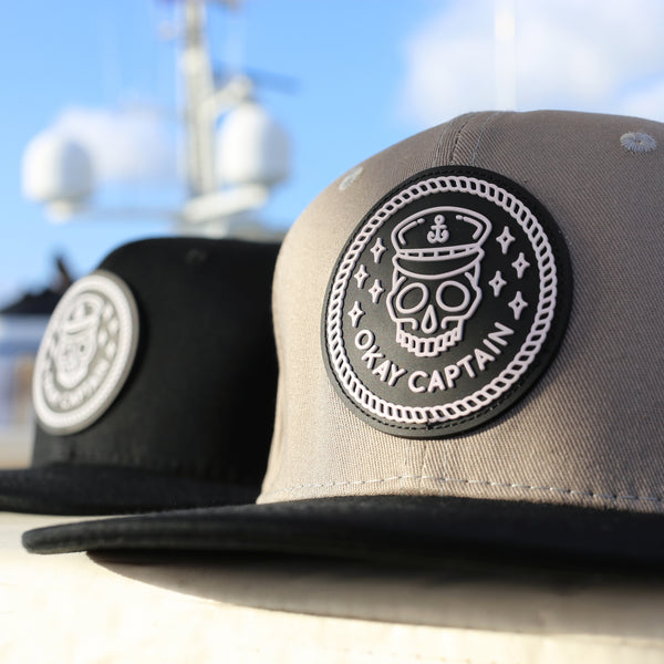 Snapback - Grey - Okay Captain