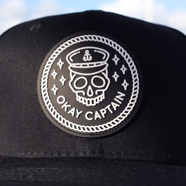 Snapback - Black - Okay Captain