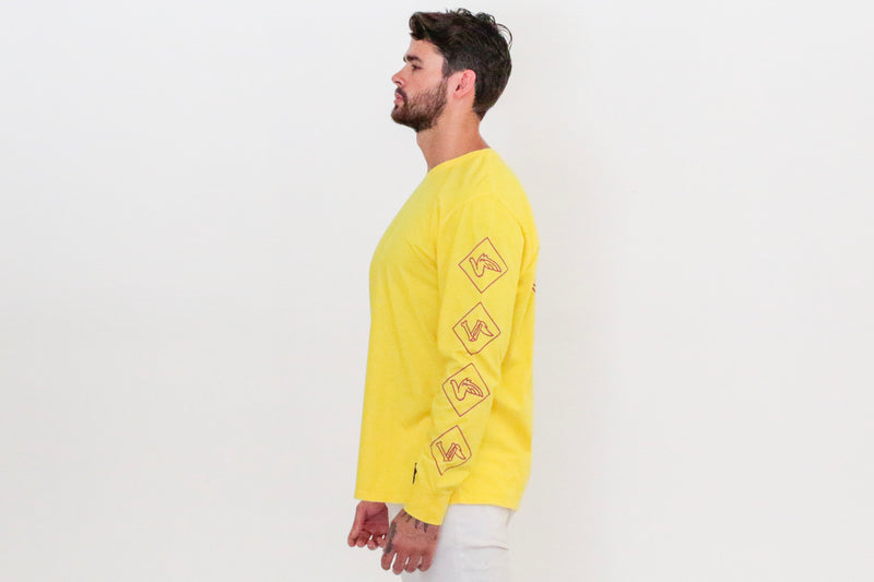 Long Sleeves - Yellow - Okay Captain