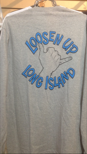 LOOSEN UP LONG ISLAND LONG SLEEVE TEE SHIRT KIDS