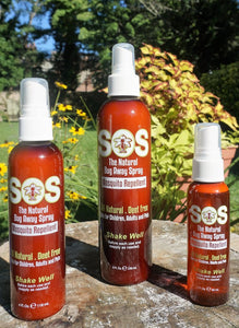 SOS NATURAL BUG AWAY SPRAY MOSQUITO REPELLENT