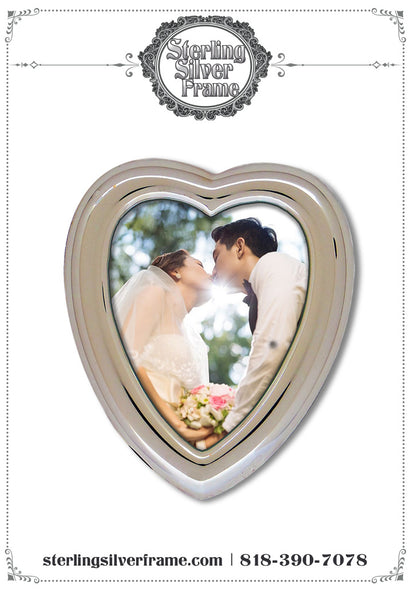 A Sterling Silver Frame Makes a Great Wedding Gift