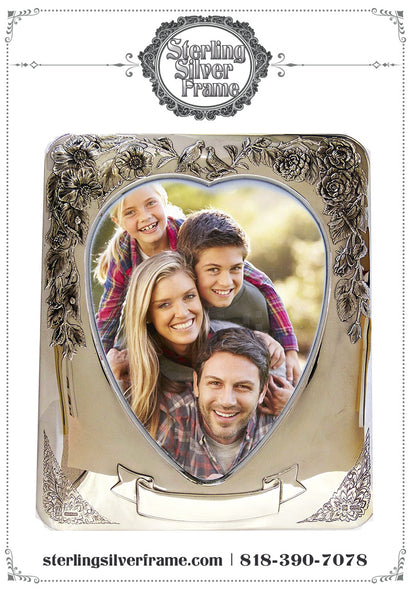 Keep Your Personal Pictures in Silver Frames