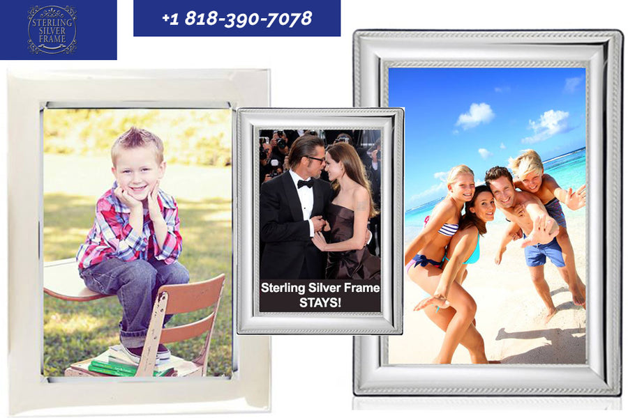 Personalize That Sterling Silver Frame for a Special Gift