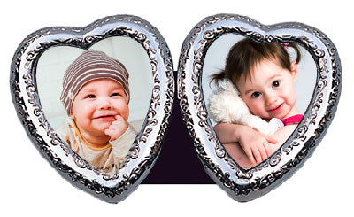 VICTORIAN HEART DOUBLE (2x) 2.5x3