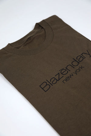 Classic Logo Olive Tee