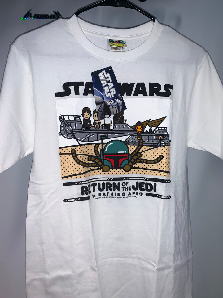 *NEW* Bape x Starwars Return of the Jedi Tee