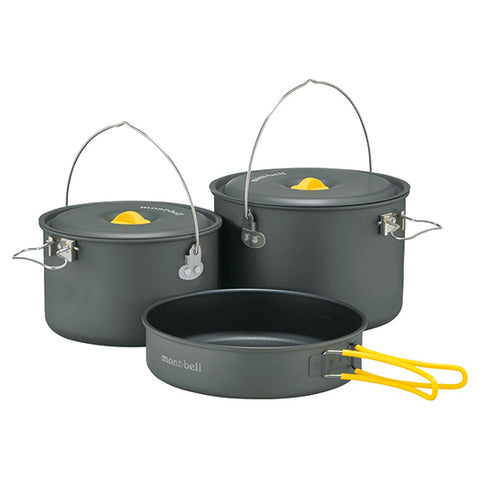 Montbell Alpine Cooker 18+20 Pan Set
