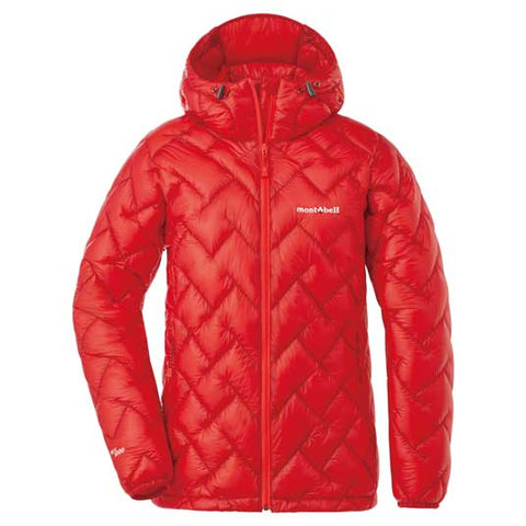Montbell Womens US Plasma 1000 Alpine Down Parka