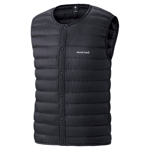 Montbell Mens Superior Down Round Neck Vest
