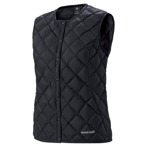 Montbell Womens Superior Down Round Neck Vest