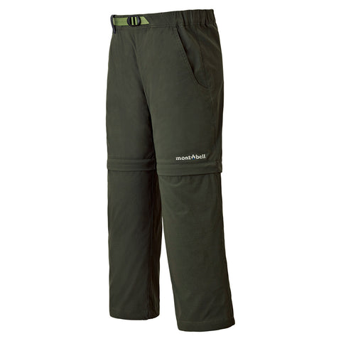 Montbell Kids Convertible Pants 100-120