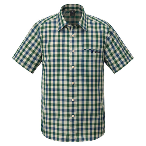 Montbell Mens Wickron Light Single Pocket Short Sleeve Shirt