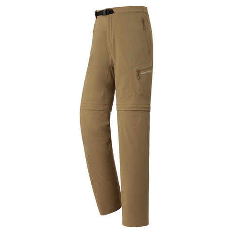 Montbell Mens Convertible Half Pants