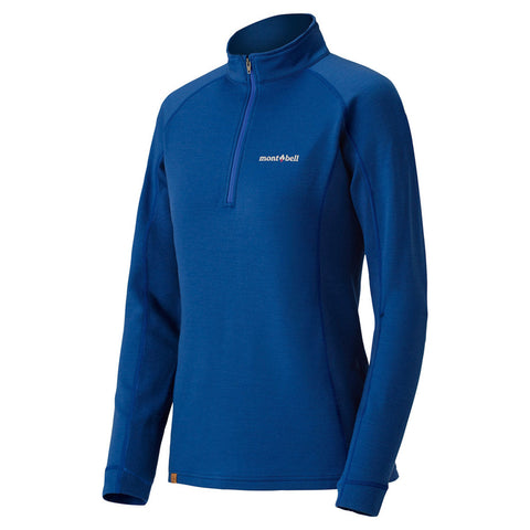 US Merino Wool Plus Action Zip Neck Women's